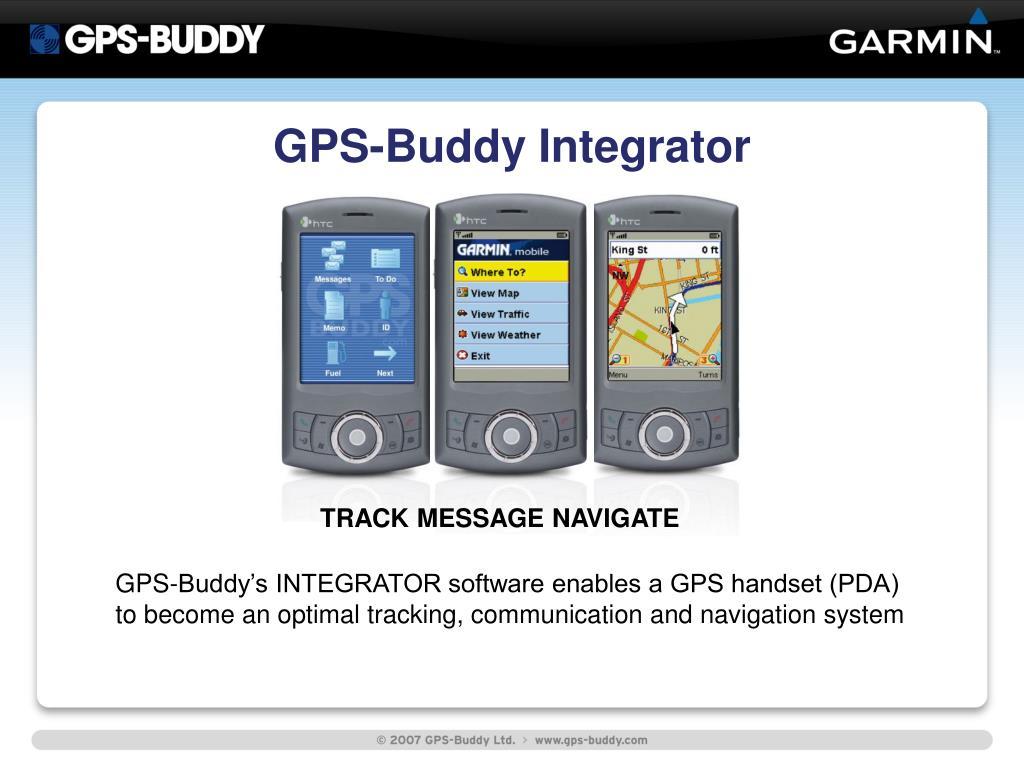 GPS-Buddy Integrator