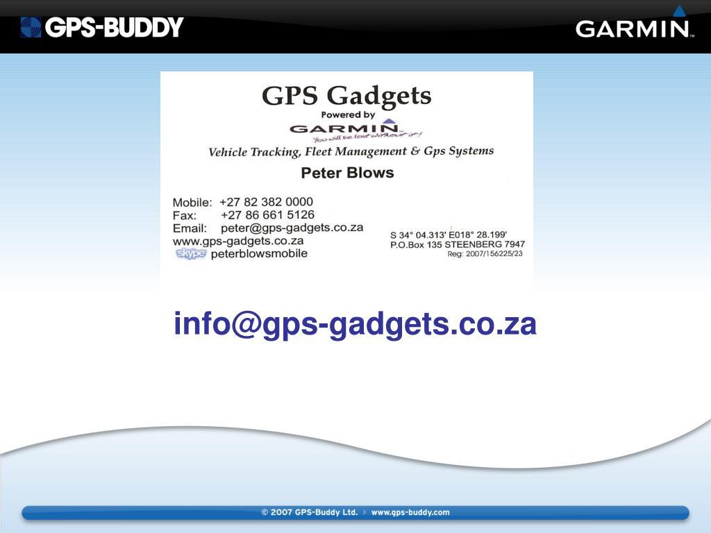 info@gps-gadgets.co.za