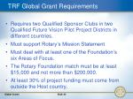 trf global grant requirements35