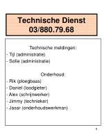 technische dienst 03 880 79 68