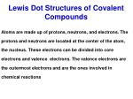 lewis dot structures of covalent compounds