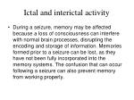 ictal and interictal activity