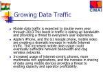 growing data traffic