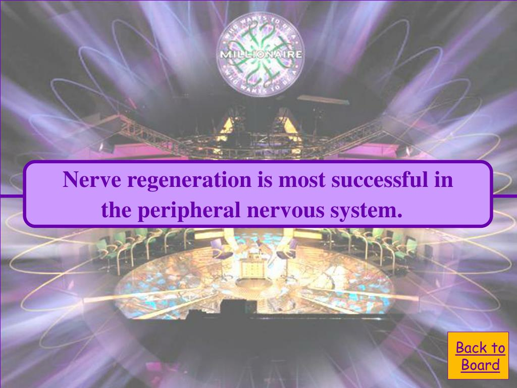 Nerve regeneration is most successful in