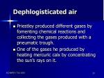 dephlogisticated air