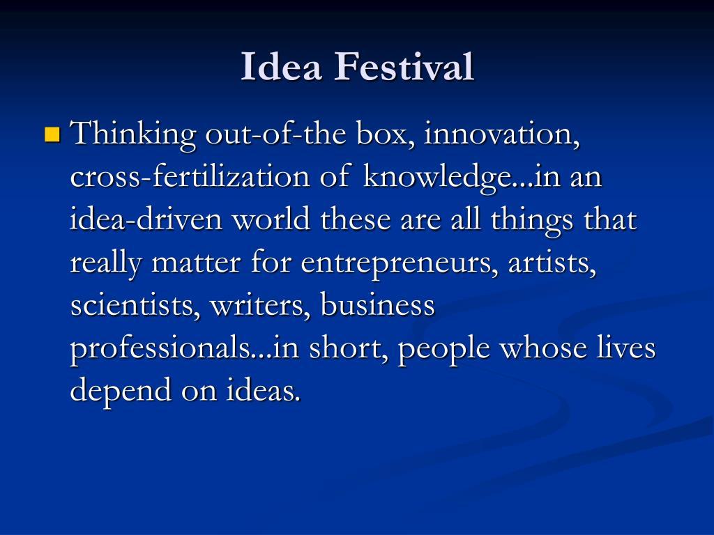 idea festival l.