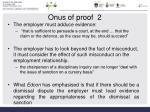 onus of proof 2