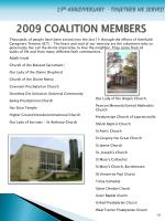 2009 coalition members