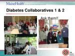 diabetes collaboratives 1 2
