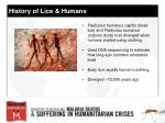 history of lice humans8