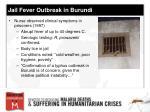 jail fever outbreak in burundi