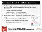 prevention in schools no nit policy controversy