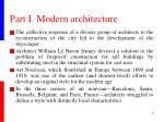 part i modern architecture2