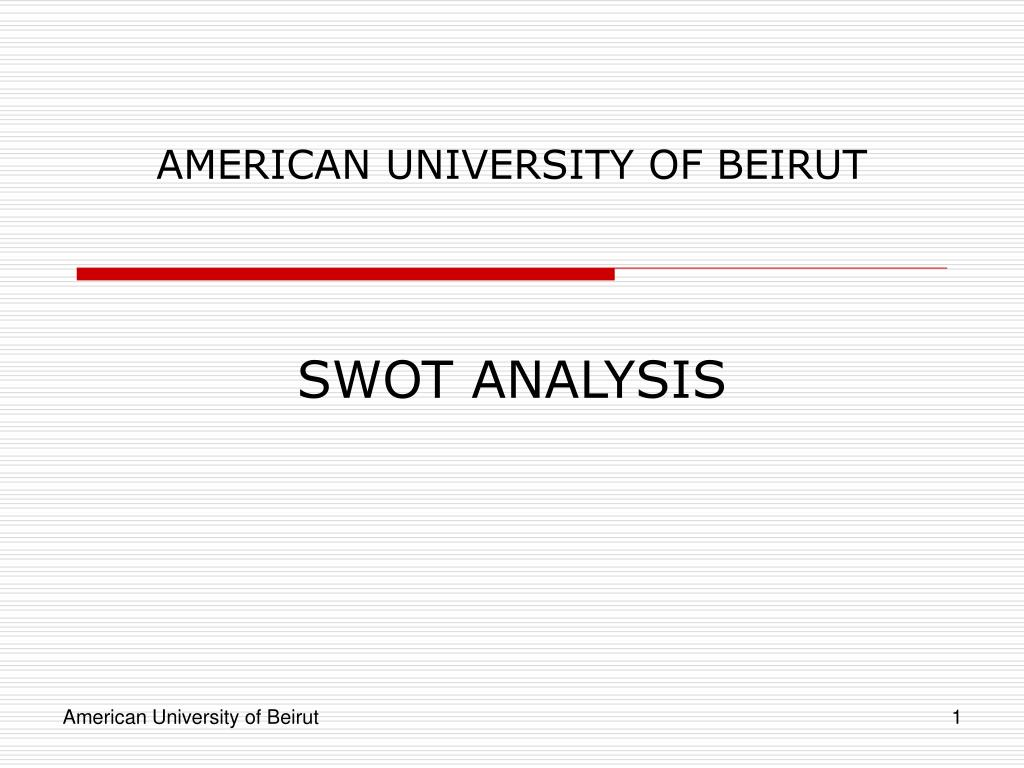 american university of beirut l.