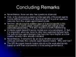concluding remarks52