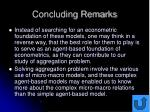 concluding remarks53