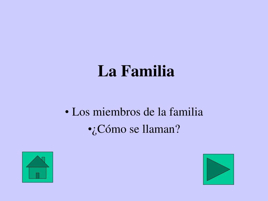 la familia l.