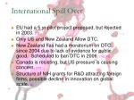 international spill over