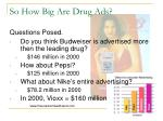 so how big are drug ads