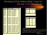 encoding of 32 bit address mode mod r m byte and s i b byte present