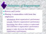 definitions of empowerment