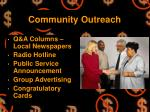 community outreach24