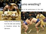 cheating in sumo wrestling