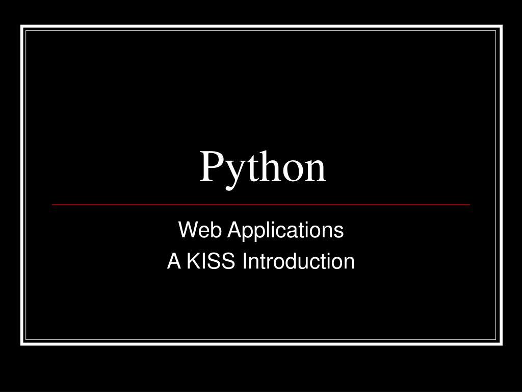 python l.