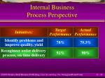 internal business process perspective24