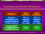 learning and growth perspective26