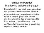 simpson s paradox that lurking variable thing again