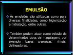 emuls o26