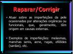 reparar corrigir