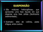 suspens o