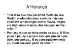 a heran a
