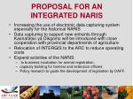 proposal for an integrated naris11