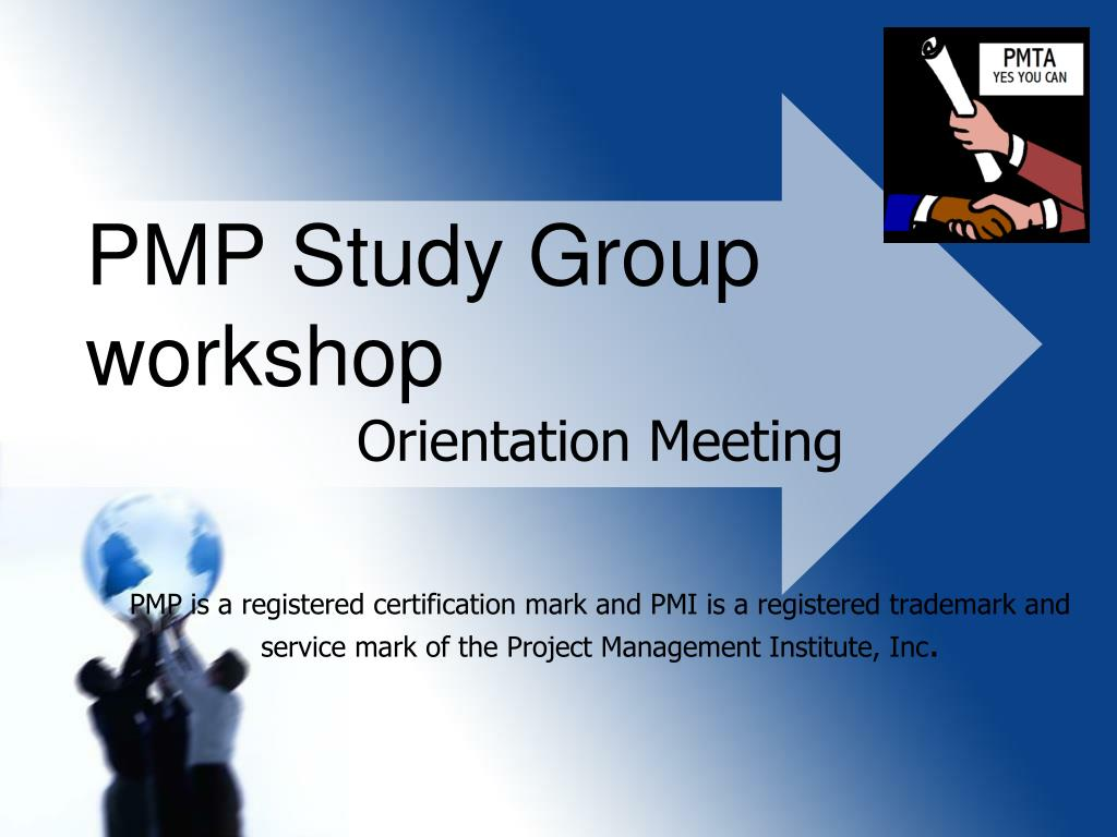 pmp study group workshop l.