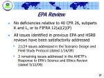 epa review