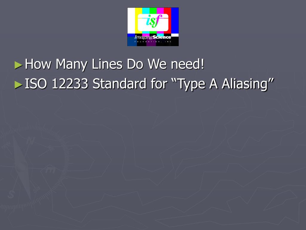 How Many Lines Do We need!