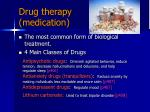 drug therapy medication