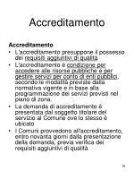 accreditamento