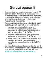 servizi operanti
