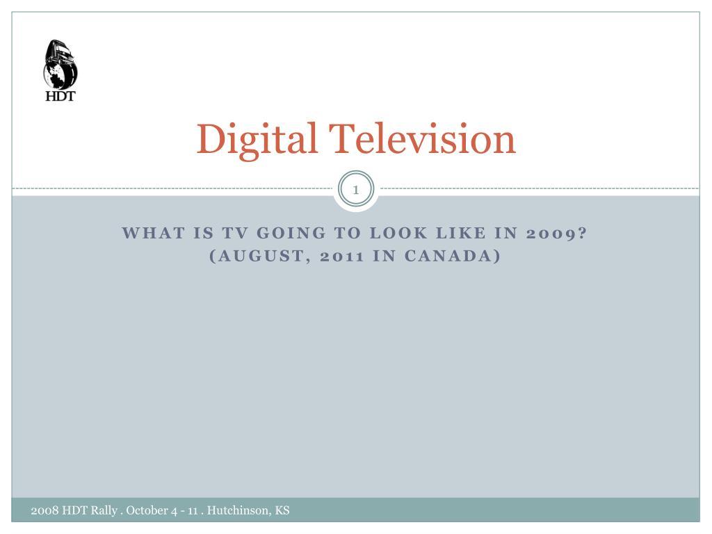 digital television l.