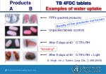 tb 4fdc tablets examples of water uptake