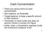 cash concentration24