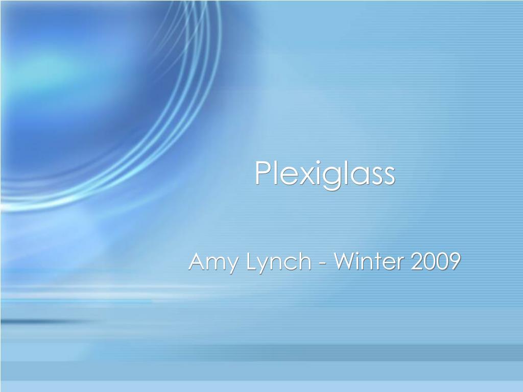 plexiglass l.