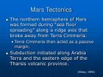 mars tectonics