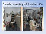 sala de consulta y oficina direcci n