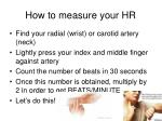 how to measure your hr