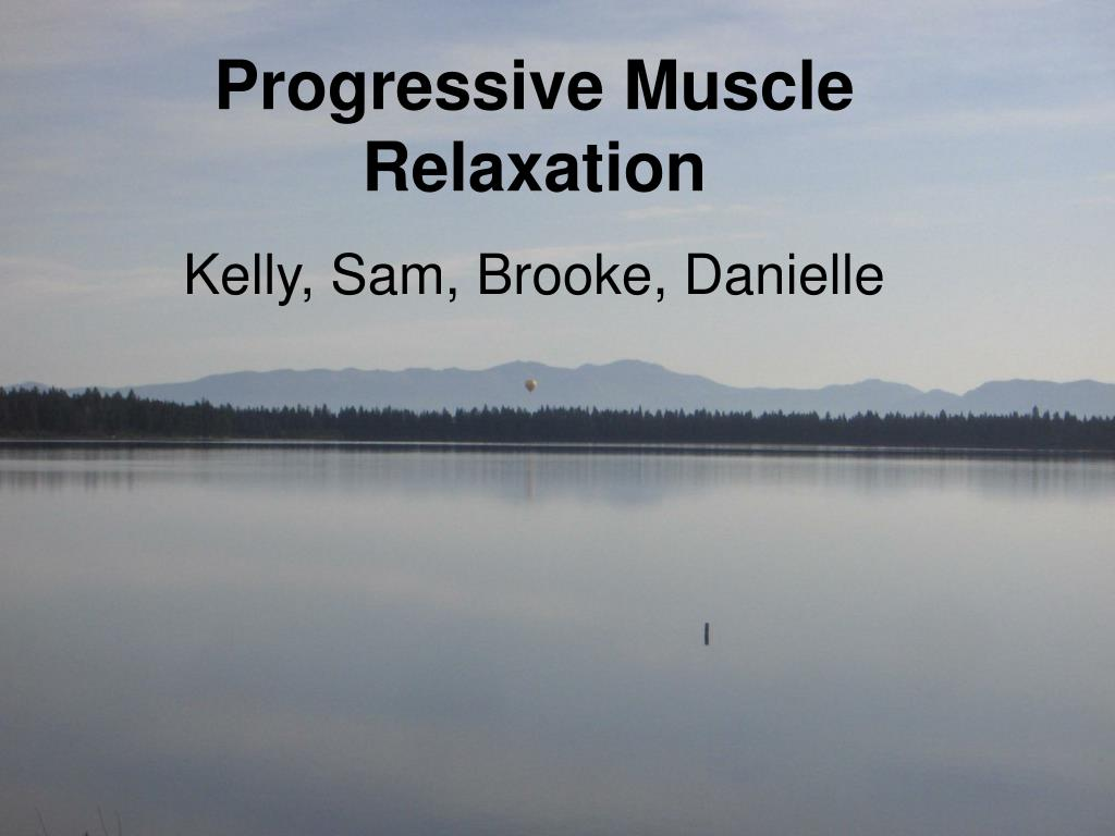 progressive muscular relaxation l.